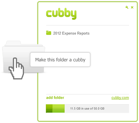 Make this folder a Cubby