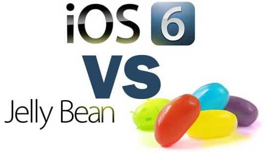 iOS 6 vs. Android Jelly Bean