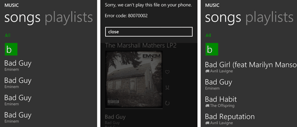 Fix media library duplicates on Windows Phone 8