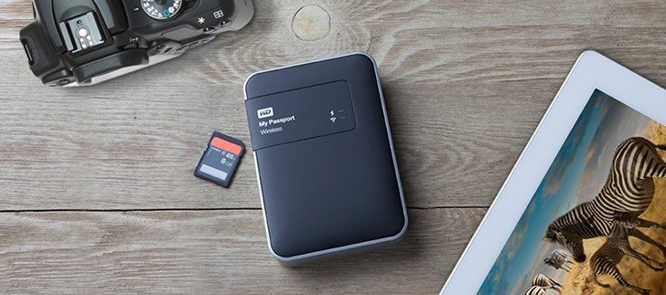 External hard drive with WiFi