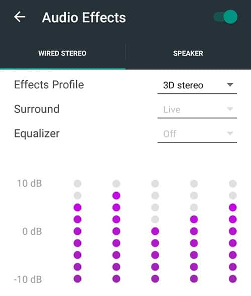 Custom Equalizer on Android