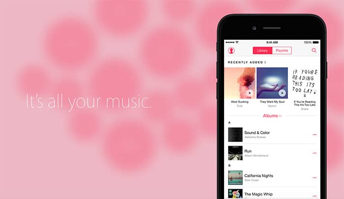 Transfer Spotify, Rdio, CSV Playlists to Apple Music