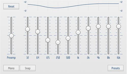 HTML5 Audio Equalizer for YouTube
