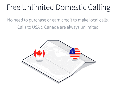 Make Free Calls to USA and Canada