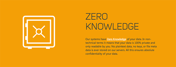 End-to-end encrypted Zero Knowledge cloud storage service for personal use - SpiderOak