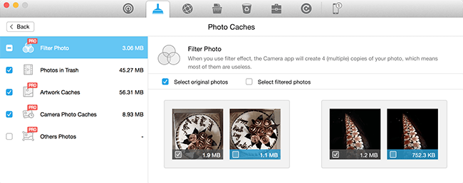 Delete Filter Photo Caches - iOS