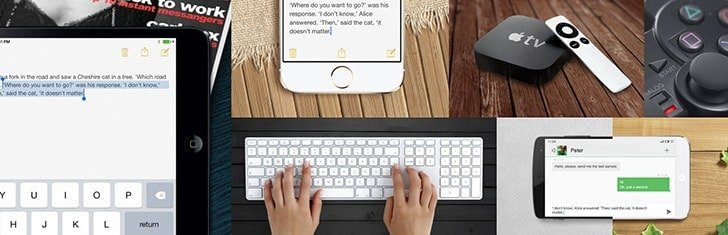 Type on iPhone, iPad or Android devices using Mac keyboard