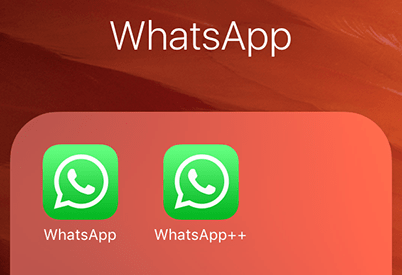 Use multiple WhatsApp accounts on iPhone without Jailbreak