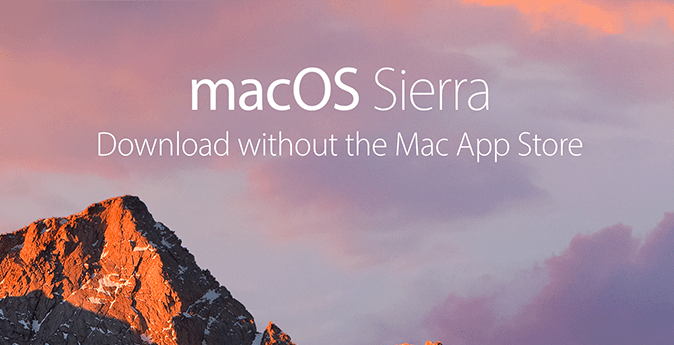 macOS Sierra Direct Download