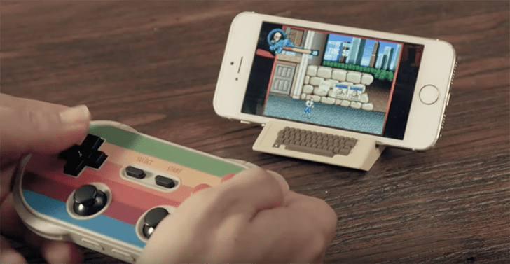 Play Retro Games on iOS and Android with NES Controller