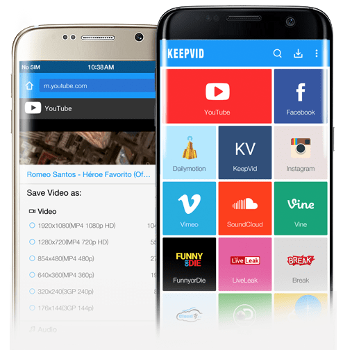 Download Videos on Android with Video Downloader App