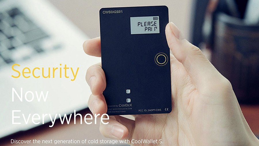 CoolWallet S - Cryptocurrency Hardware Wallet‎