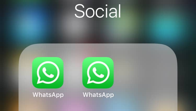 Install 2 WhatsApp on one iPhone - No Jailbreak