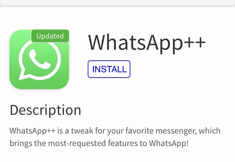 Install WhatsApp++, WhatsPad++ on iPhone or iPad without Computer [No Jailbreak]