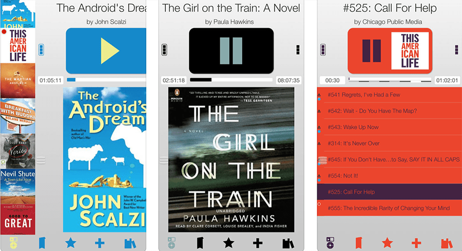 Audiobooks on your iPhone or Android device