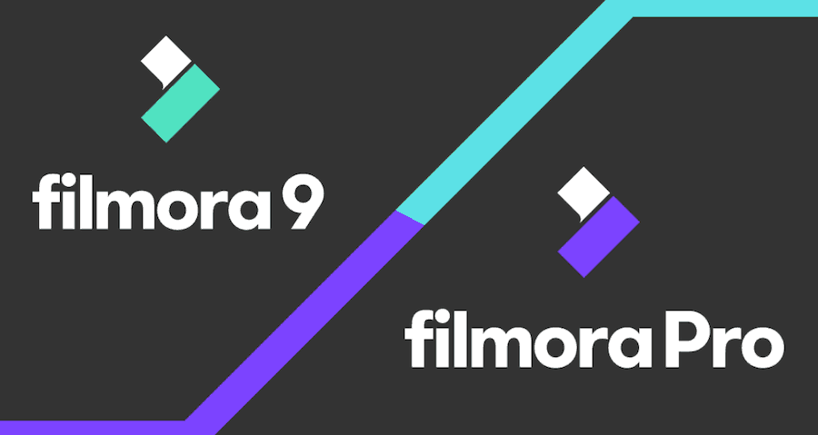 Budget video editing tools for YouTube - Filmora 9 v:s FilmoraPro