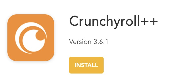 Install Crunchyroll++ on iPhone, iPad without jailbreak