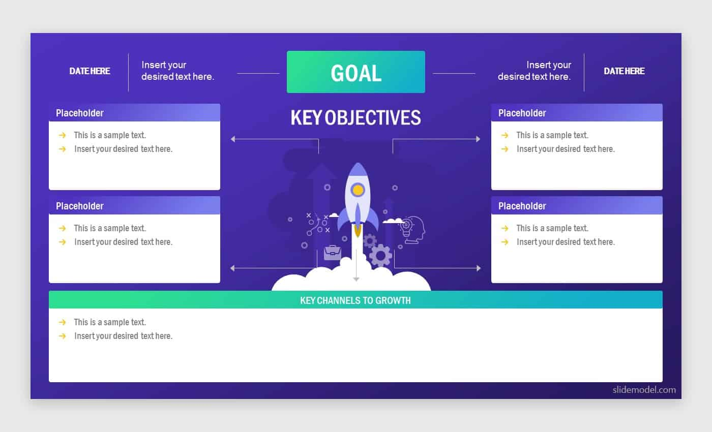 1-Page Business Plan Template by SlideModel