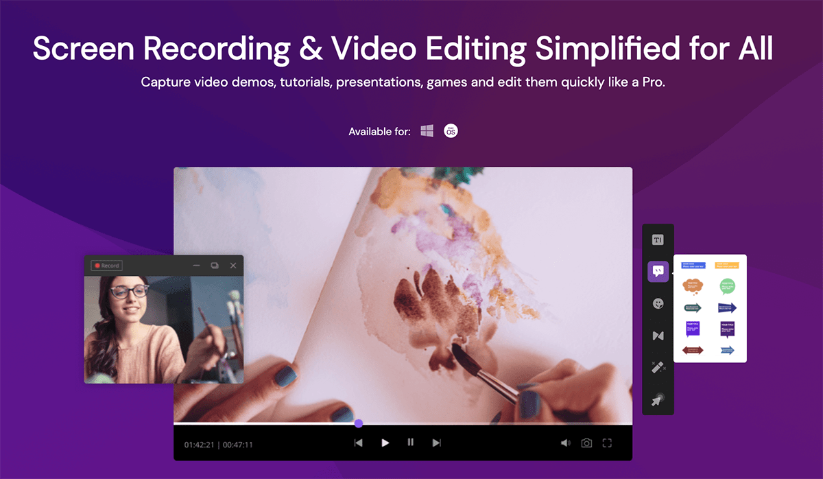 DemoCreator - A Simplified Screen Recording and Editing Software