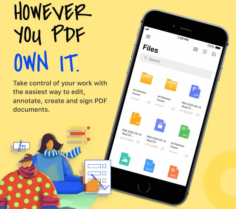 Edit, Annotate, Manage PDF files on the go with PDFelement Pro for iPhone and iPad