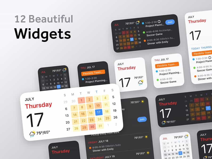 Fantastical - Top third-party apps with widgets for iPhone and iPad