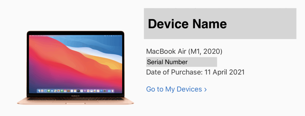 Check activation date (original purchase date) of your iPhone, iPad, Mac